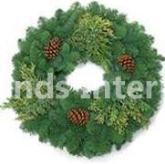 "Mixed Wreath 30"""